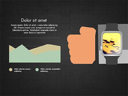 Flat Design Presentation Concept with Hands, Slide 16, 03952, Presentation Templates — PoweredTemplate.com