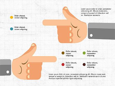 Flat Design Presentation Concept with Hands, Slide 6, 03952, Presentation Templates — PoweredTemplate.com