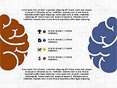 Presentation Templates: Piatto disegno di presentazione concetto con le mani #03952