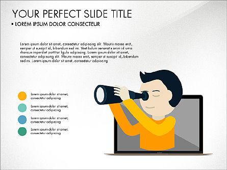 Plan and Run a Startup Presentation Concept, Slide 4, 03953, Presentation Templates — PoweredTemplate.com