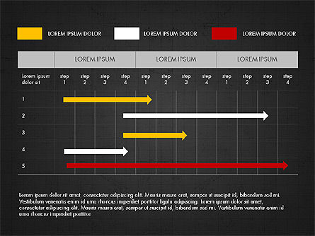 Summary Report Presentation Deck, Slide 12, 03955, Data Driven Diagrams and Charts — PoweredTemplate.com