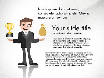Fundraising Presentation Concept, Slide 3, 03957, Presentation Templates — PoweredTemplate.com