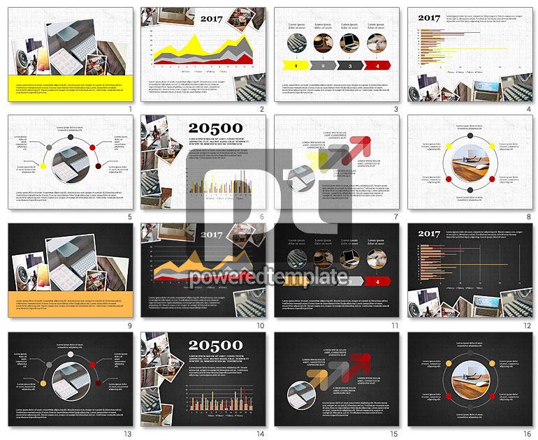 Content Management Presentation Concept