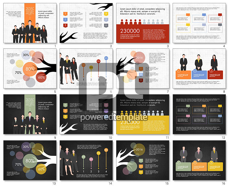 Business Team Presentation Concept