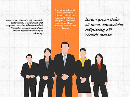 Business Team Presentation Concept, 03959, Presentation Templates — PoweredTemplate.com
