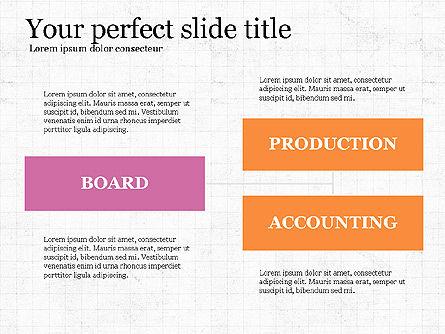 Company Organizational Chart, Slide 6, 03961, Organizational Charts — PoweredTemplate.com