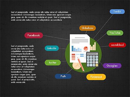 Data Analysis Presentation Deck, Slide 13, 03962, Presentation Templates — PoweredTemplate.com