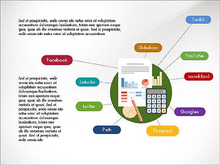Data Analysis Presentation Deck, Slide 5, 03962, Presentation Templates — PoweredTemplate.com