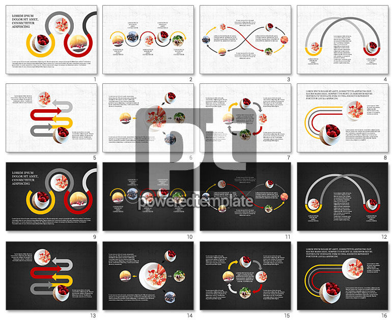 Cooking Flow Process Presentation Concept