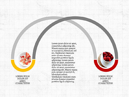 Cooking Flow Process Presentation Concept, Slide 4, 03963, Process Diagrams — PoweredTemplate.com