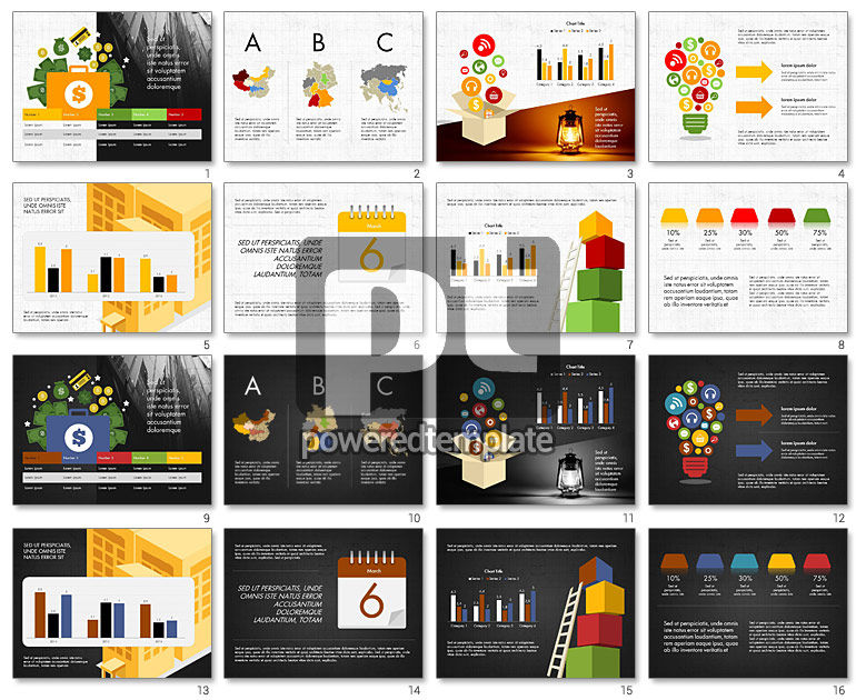 Financial Result Presentation Concept