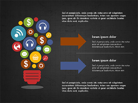 Financial Result Presentation Concept, Slide 12, 03964, Presentation Templates — PoweredTemplate.com