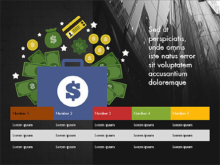 Financial Result Presentation Concept, Slide 9, 03964, Presentation Templates — PoweredTemplate.com