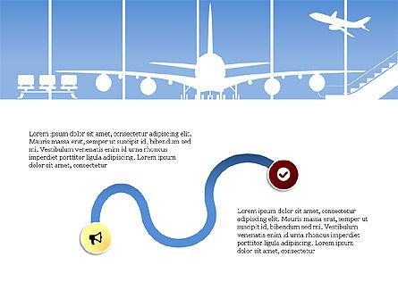 Roadmap with Airport Silhouette Slide Deck, Slide 11, 03965, Business Models — PoweredTemplate.com
