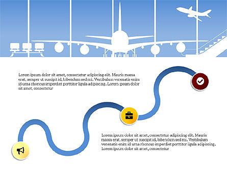 Roadmap with Airport Silhouette Slide Deck, Slide 15, 03965, Business Models — PoweredTemplate.com