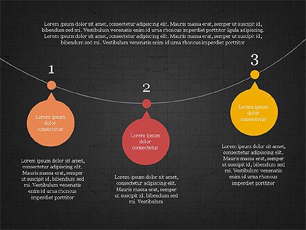 Bubble Timeline Slide Deck, Slide 10, 03969, Timelines & Calendars — PoweredTemplate.com