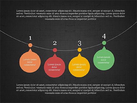 Bubble Timeline Slide Deck, Slide 12, 03969, Timelines & Calendars — PoweredTemplate.com