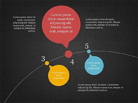 Bubble Timeline Slide Deck, Slide 14, 03969, Timelines & Calendars — PoweredTemplate.com
