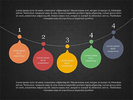 Bubble Timeline Slide Deck, Slide 16, 03969, Timelines & Calendars — PoweredTemplate.com