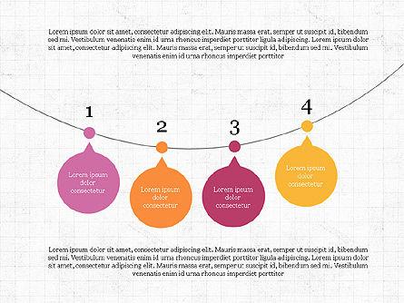 Bubble Timeline Slide Deck, Slide 4, 03969, Timelines & Calendars — PoweredTemplate.com