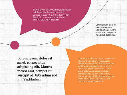 Bubble Timeline Slide Deck, Slide 5, 03969, Timelines & Calendars — PoweredTemplate.com