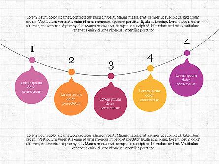 Bubble Timeline Slide Deck, Slide 8, 03969, Timelines & Calendars — PoweredTemplate.com