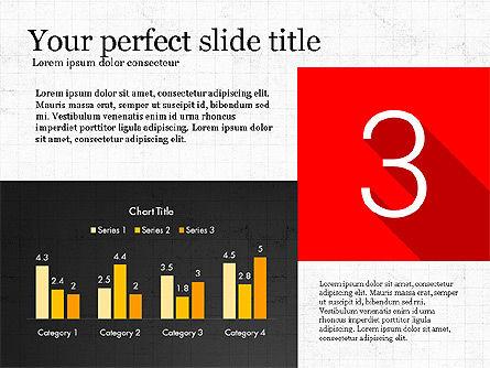 Presentation with Flat Design Numbers, Slide 6, 03970, Presentation Templates — PoweredTemplate.com