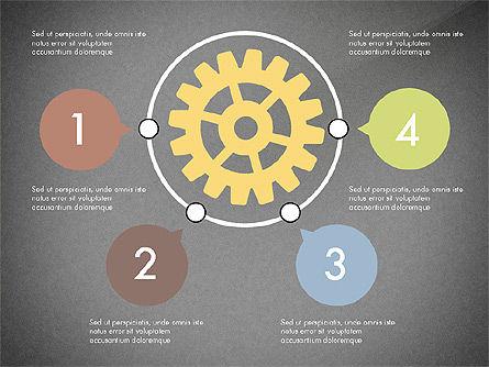Gears Theme Presentation Concept, Slide 10, 03971, Presentation Templates — PoweredTemplate.com