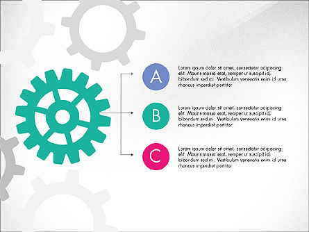 Gears Theme Presentation Concept, Slide 3, 03971, Presentation Templates — PoweredTemplate.com
