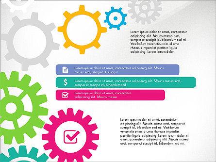 Gears Theme Presentation Concept, Slide 7, 03971, Presentation Templates — PoweredTemplate.com