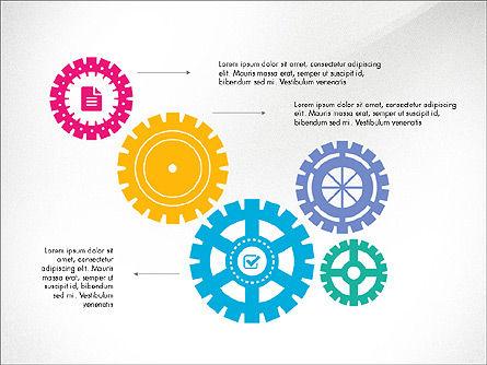 Gears Theme Presentation Concept, Slide 8, 03971, Presentation Templates — PoweredTemplate.com