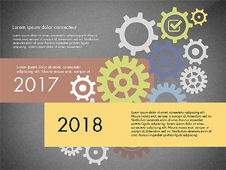 Gears Theme Presentation Concept, Slide 9, 03971, Presentation Templates — PoweredTemplate.com