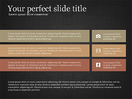 Grid Process Slide Deck, Slide 14, 03972, Process Diagrams — PoweredTemplate.com
