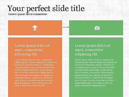 Grid Process Slide Deck, Slide 5, 03972, Process Diagrams — PoweredTemplate.com