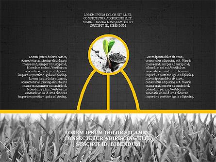 Shapes and Photos Presentation Deck, Slide 13, 03973, Shapes — PoweredTemplate.com