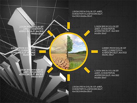 Shapes and Photos Presentation Deck, Slide 15, 03973, Shapes — PoweredTemplate.com