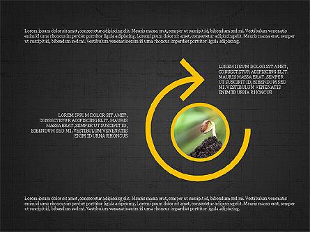 Shapes and Photos Presentation Deck, Slide 16, 03973, Shapes — PoweredTemplate.com
