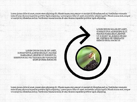 Shapes and Photos Presentation Deck, Slide 8, 03973, Shapes — PoweredTemplate.com
