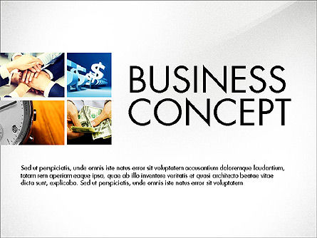 Presentation Templates: Presentasi Bisnis Slide Dek #03974