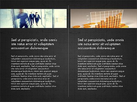 Business Presentation Slide Deck, Slide 10, 03974, Presentation Templates — PoweredTemplate.com