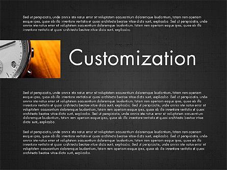 Business Presentation Slide Deck, Slide 15, 03974, Presentation Templates — PoweredTemplate.com