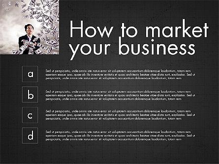 Business Presentation Slide Deck, Slide 16, 03974, Presentation Templates — PoweredTemplate.com