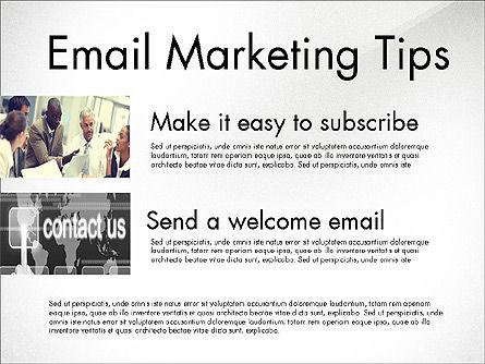 Business Presentation Slide Deck, Slide 5, 03974, Presentation Templates — PoweredTemplate.com