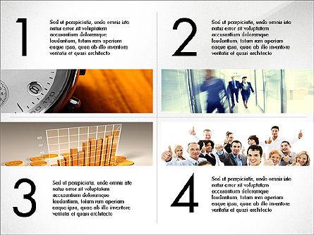Business Presentation Slide Deck, Slide 6, 03974, Presentation Templates — PoweredTemplate.com