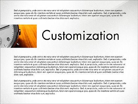 Business Presentation Slide Deck, Slide 7, 03974, Presentation Templates — PoweredTemplate.com