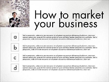 Business Presentation Slide Deck, Slide 8, 03974, Presentation Templates — PoweredTemplate.com