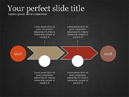 Company Summary Slide Deck, Slide 10, 03975, Process Diagrams — PoweredTemplate.com