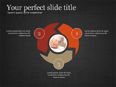 Company Summary Slide Deck, Slide 11, 03975, Process Diagrams — PoweredTemplate.com