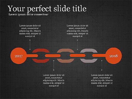 Company Summary Slide Deck, Slide 12, 03975, Process Diagrams — PoweredTemplate.com