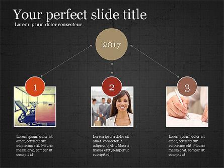 Company Summary Slide Deck, Slide 13, 03975, Process Diagrams — PoweredTemplate.com